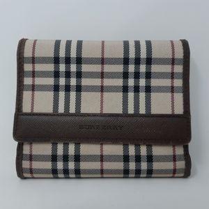 Authentic Burberry Short Wallet